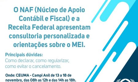 Receita Federal e parceiros realizam mutirão para regularização do MEI